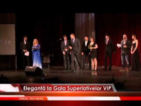 Eleganţă la Gala Superlativelor VIP