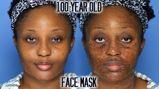 The face mask that makes you look 100 years old