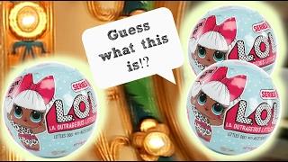 Lol Dolls Lil Outrageous Littles Surprise Openings Plus A