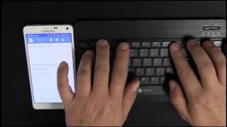 Bluetooth Tastatur QWERTZ - IOS, Android, windows - iClever IC-BK04