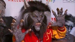 Heidi Klum Rocks Terrifying Michael Jackson 'Thriller' Werewolf Costume -- See The Look! (Exclusi…
