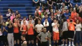 DRIVE HOME SAFELY DUNK! LAKES JORDAN JOHNSON SENDS SEAHAWKS HOME WITH A DUNK!
