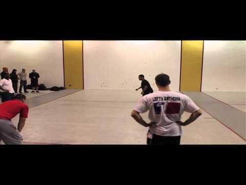 2014 Wall Ball Open - PSP & Thunder vs Justin & Pauly