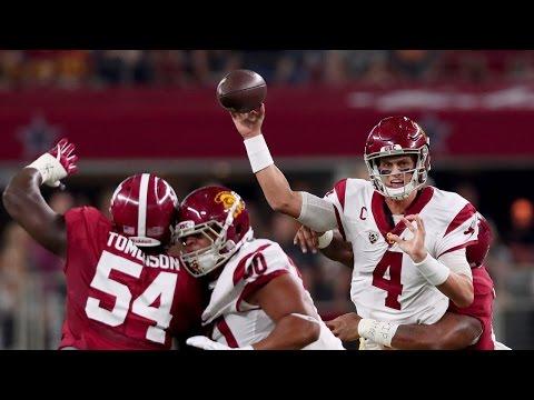Highlights: USC football falls to No. 1 Alabama