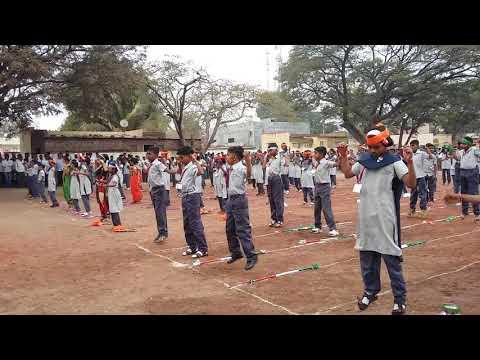 SANGEET KAVAYAT ( संगीत कवायत )Z.P.SCHOOL BARAD TAL.PHALTAN