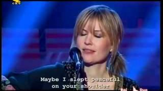 Dido   Don't Believe in Love Live Acoustic @Quelli che    Italian TV