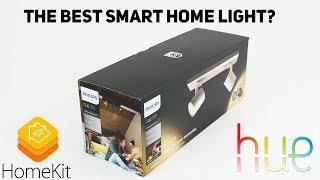 Philips Hue Runner ceiling lamp review GU10 twin spotlight