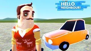 KÖTÜ KOMŞU WILSON ARABASIYLA YARIŞTIM - Hello Neighbor