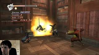 Ninja Gaiden Black - Archive Challenge MN - no UT/ninpo/izuna/wall jump Y/health items