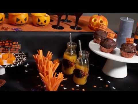 Receita cocktail halloween laranja e preto
