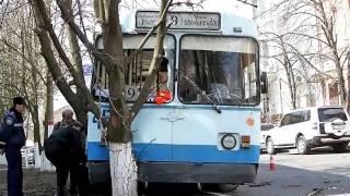 Аварии троллейбусов. 2011 год.