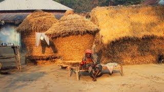 Indigenous Granary of Santhal Tribe, Shantiniketan