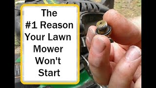 How to fix a lawn mower that won't start after storage