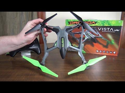 Dromida - Vista UAV - Review and Flight