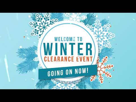 Winter Clearance Event - 2019
