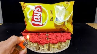 EXPERIMENT Match VS Lays Chips