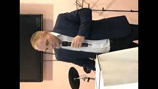 Воскресное служение пороповедует пастор Сергей Толмачев