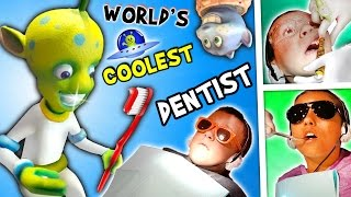 WORLD'S COOLEST DENTIST!! Outer Space Cavities Search / Bloody Storm / Wisdom (FUNnel Vision Vlog)