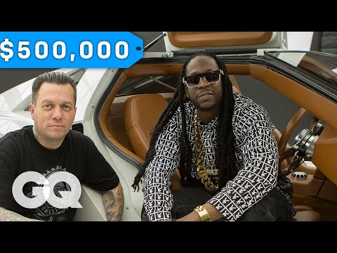 2-chainz-geeks-out-over-a-$500k-delorean-by-west-coast-customs--most-expensivest-sht