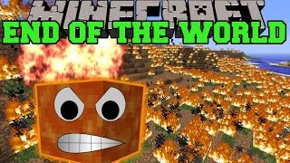 Minecraft: THE END OF THE WORLD MOD (SURVIVE THE SOLAR APOCALYPSE!) Mod Showcase