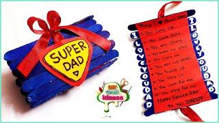 Beautiful Father's Day Greeting Card Idea   DIY Father's Day POP-UP Card  father's Day Card