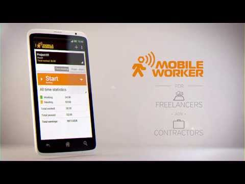 Video of Mobile Worker - Time tracker