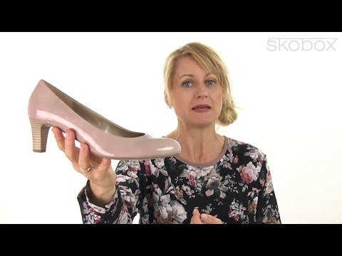 Gabor sko – Lak Pump (Rosa) item no.: 65-200-70