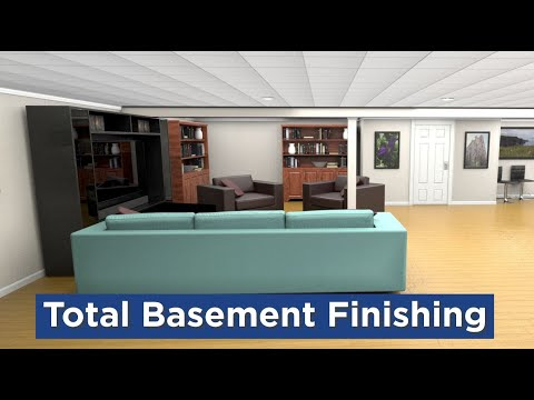 Total Basement Finishing at Healthy Spaces