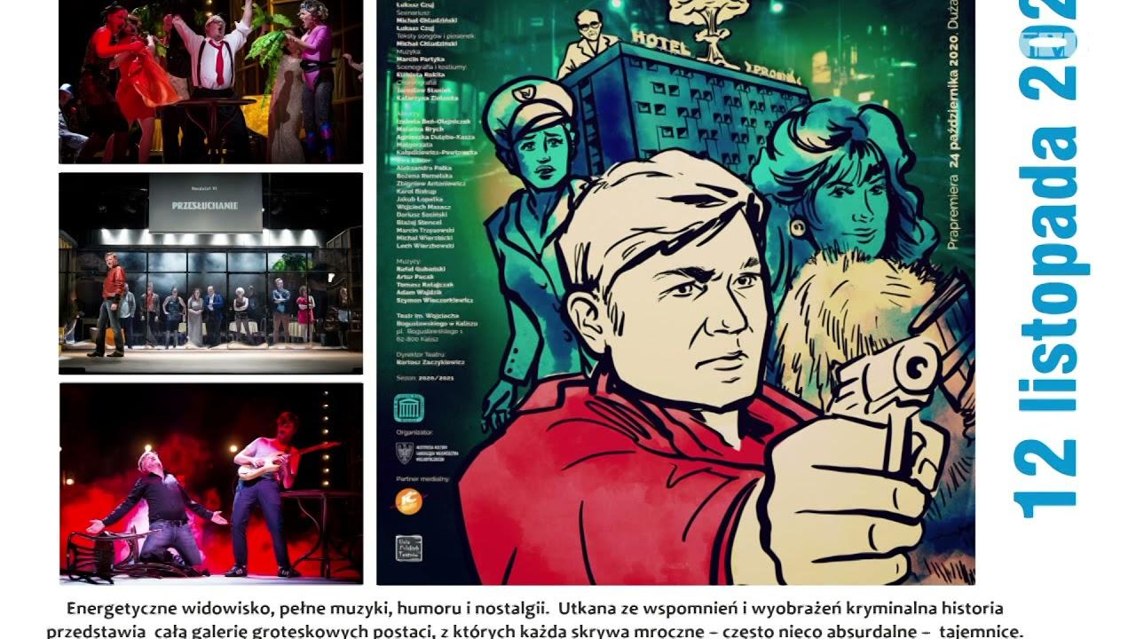 Zaproszenie na wyjazd do Kalisza na kryminał muzyczny