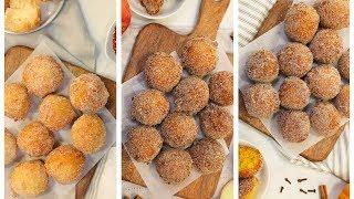 3 Homemade Donut Recipes | Pumpkin Spice, Apple Cinnamon, Classic | Fall Desserts
