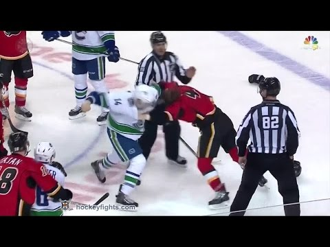 Kris Russell vs. Alexandre Burrows