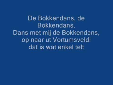 Johan Albers zingt de Bokkendans