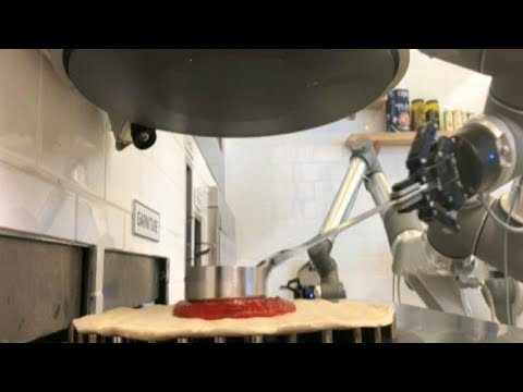 Ρομπότ πιτσαϊόλο!
