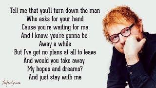 One - Ed Sheeran (Lyrics)