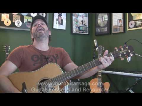 It Ends Tonight by All American Rejects  - Guitar Lessons for Beginners Acoustic songs