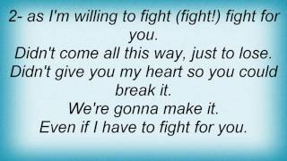 Alicia Keys - Fight Lyrics