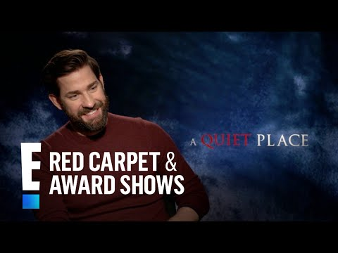 John Krasinski Spills on Wife Emily Blunt's Professionalism | E! Live from the Red Carpet