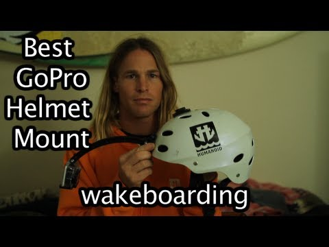 Best GoPro Mount On Wakeboard Helmet - GoPro Tip #132