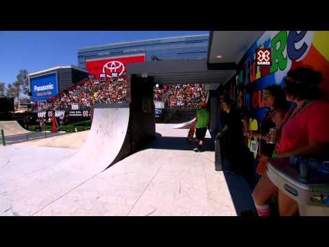 X Games Los Angeles 2012: Alexis Sablone wins Women's Skateboard Street