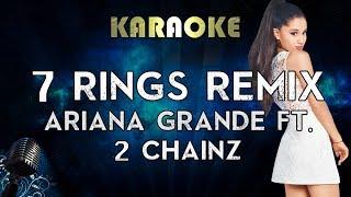 Ariana Grande   7 Rings Remix (Karaoke Instrumental) Feat 2 Chainz
