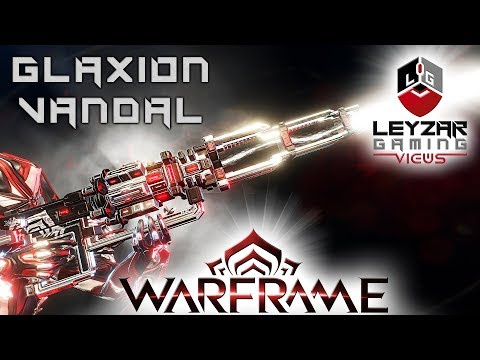 Glaxion Vandal Build 2019 (Guide) - The Raging Blizzard (Warframe Gameplay)