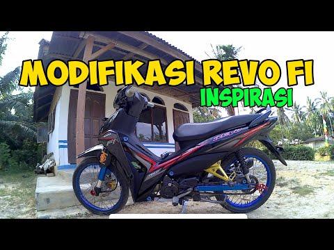 Motor Modifikasi Terkini Modif Motor Revo Fi