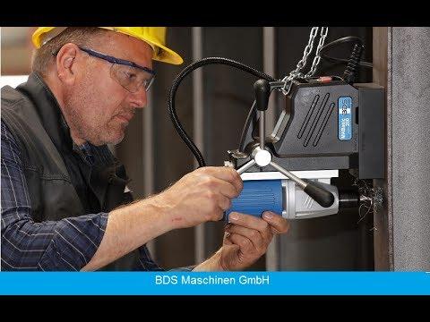 Die preisgünstigste Magnetbohrmaschine aus Deutschland   MABasic 200   BDS Maschinen®
