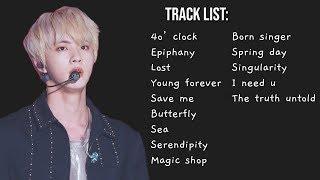 [Playlist] BTS (방탄소년단) Ballad/Chill Music 🎶