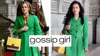 I Dressed And Lived Like BLAIR WALDORF In NEW YORK CITY + Iconic Locations Of Gossip Girl