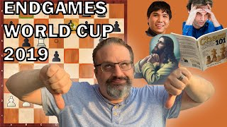 2019 World Cup Endgames from 1st Round, with GM Ben Finegold