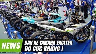 Dàn xe Yamaha EXCITER độ KHỦNG nhất Việt Nam năm 2018 | Xedoisong.vn