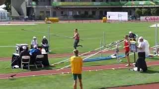 WJCH Eugene Decathlon - Jan Dolezal Pole Vault 430cm