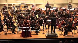 Christine Goerke - Götterdämmerung (Wagner) Immolation Scene - Stony Brook Symphony Orchestra
