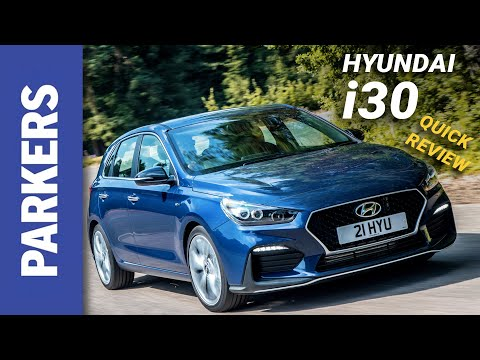 Hyundai i30 Hatchback Review Video